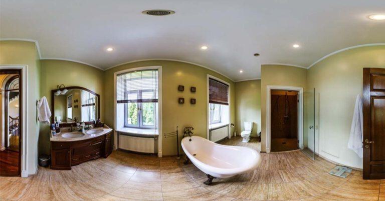 360 grad rundgang badezimmer
